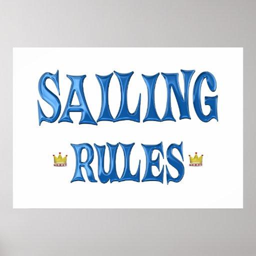 Reglas de la navegación poster