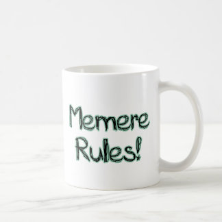 ¡Reglas de Memere! Taza De Café