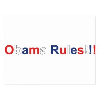 reglas de obama postal