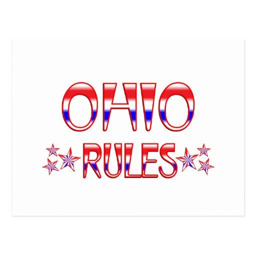 Reglas de Ohio Postal