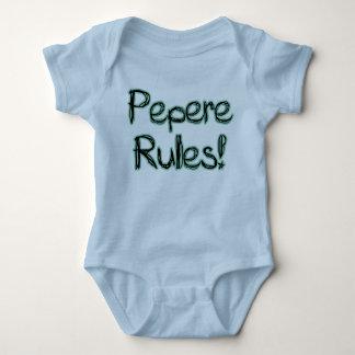 ¡Reglas de Pepere! Mameluco De Bebé