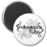 Reglas de Shakespeare Imanes De Nevera