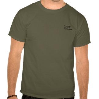 Reglas de terapia física camisetas