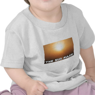 ¡Reglas de The Sun! 1 Camisetas