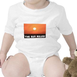 ¡Reglas de The Sun! 2 Traje De Bebé