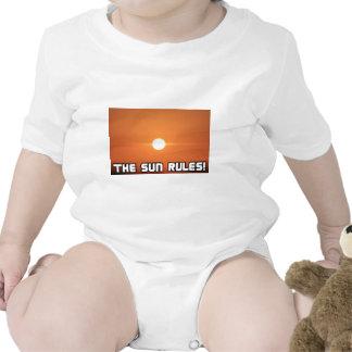 ¡Reglas de The Sun! 3 Trajes De Bebé