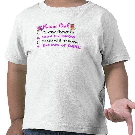 Reglas de una camisa del niño del florista