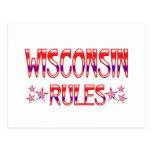 Reglas de Wisconsin Postales