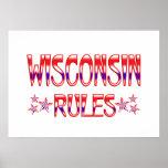 Reglas de Wisconsin Poster