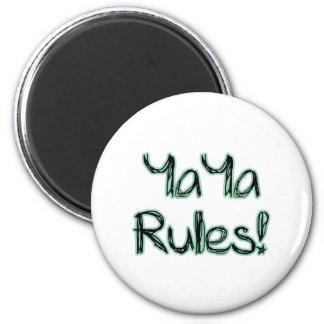 ¡Reglas de YaYa! Imán Redondo 5 Cm