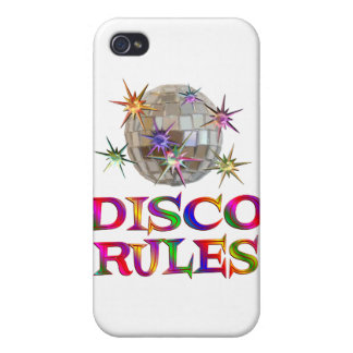 Reglas del disco iPhone 4/4S funda