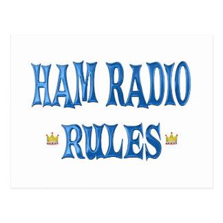 Reglas del equipo de radio-aficionado postal
