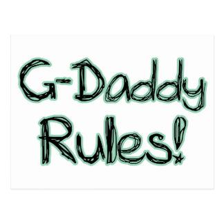 Reglas del G-Papá Tarjeta Postal