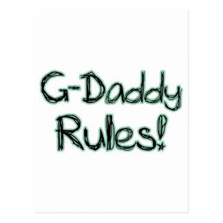 Reglas del G-Papá Tarjetas Postales