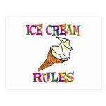Reglas del helado postal