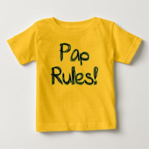 Reglas del Pap Playeras