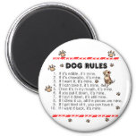 Reglas del perro imanes