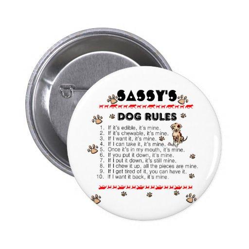 Reglas del perro pin