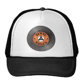 Reglas del vinilo gorra
