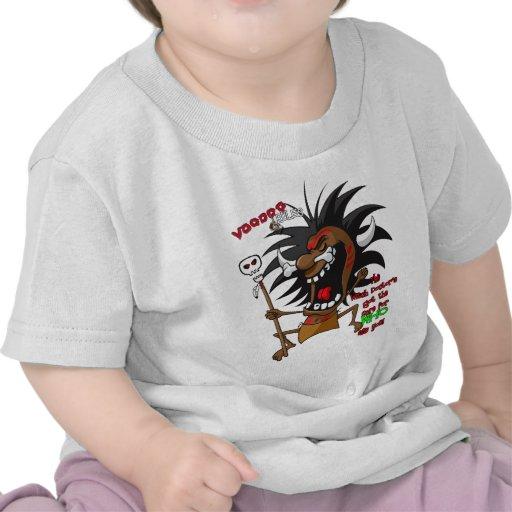 REGLAS del vudú con Tagline Camiseta