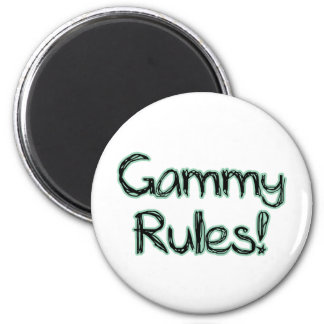 ¡Reglas Gammy! Imán Redondo 5 Cm