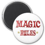 Reglas mágicas imanes
