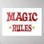 Reglas mágicas poster