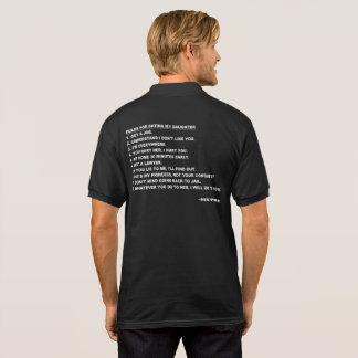 Reglas para fechar mi camiseta de la hija para los