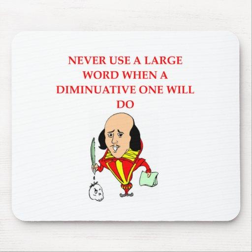 reglas para los escritores #5 tapete de raton