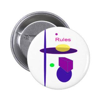 Reglas Pin Redondo 5 Cm