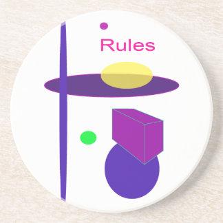 Reglas Posavasos Manualidades