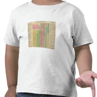 Reglas romanas de la cronología camiseta