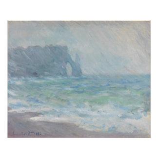 Regnvaer Etretat by Claude Monet Photo Print