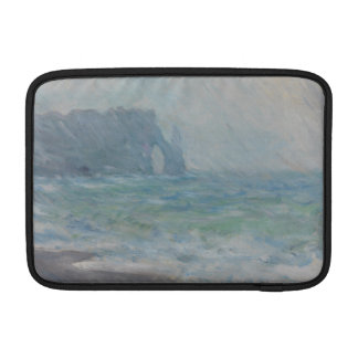 Regnvaer Etretat by Claude Monet Sleeve For MacBook Air