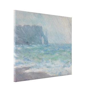 Regnvaer Etretat de Claude Monet Impresiones En Lienzo Estiradas