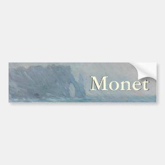 Regnvaer Etretat de Claude Monet Pegatina Para Auto