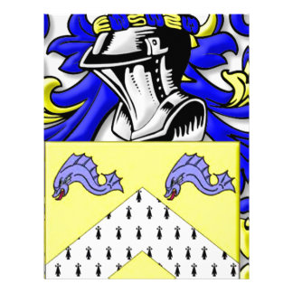 Rego Coat of Arms Customized Letterhead
