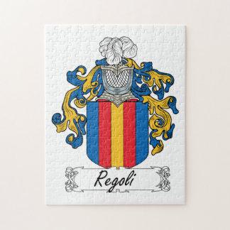 Regoli Family Crest Puzzle