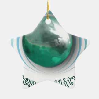 Regreensibility Logo Ceramic Ornament