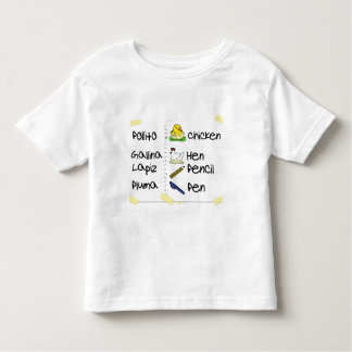 Regreso a Clases/Back to School Toddler T-shirt