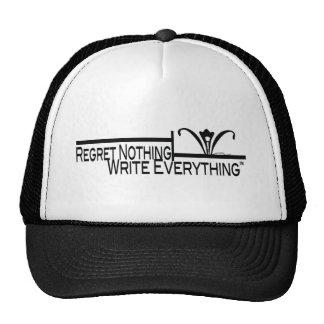 Regret Nothing | Write Everything™ Trucker Hat