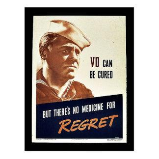 Regret Postcard