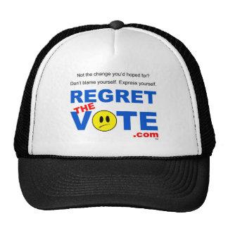 Regret the Vote Cap Trucker Hat