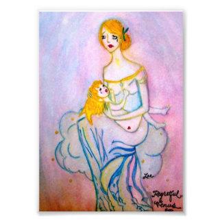Regretful Venus Print Photograph