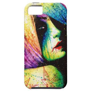 Regrets - Pop Art Portrait iPhone SE/5/5s Case