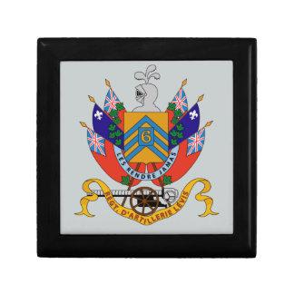 Regt  D'Artillerie Levis (Armoiries) Gift Box