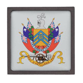 Regt  D'Artillerie Levis (Armoiries) Premium Keepsake Box