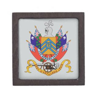 Regt  D'Artillerie Levis (Armoiries) Premium Jewelry Box