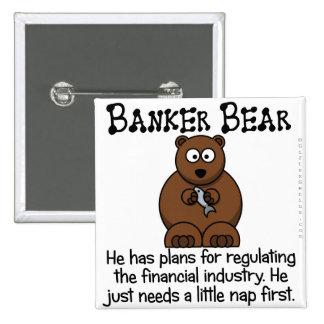 Regulación de la industria financiera pins