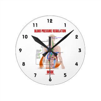 Regulación de la presión arterial dentro de la reloj redondo mediano